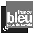 Logo France Bleu Savoie gris